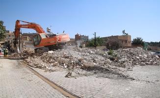 Karakoyun Köprülü Kavşağı İçin yıkım çalışmaları başladı