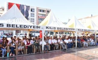 """Kilis'te """"Belediye Halka Hesap Veriyor"""" toplantısı"""