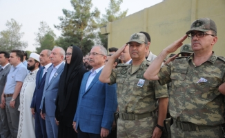 Mardin'de şehit asker için tören düzenlendi