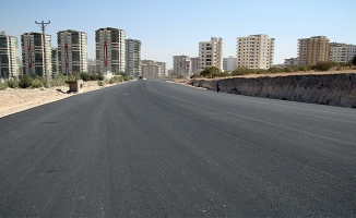 Maşuk'ta bulvarlar asfaltlandı