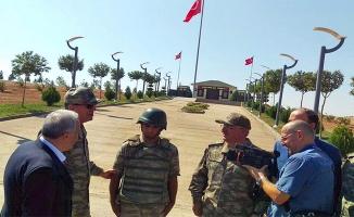 Orgeneral Akar ve Fakıbaba Süleyman Şah Türbesinde