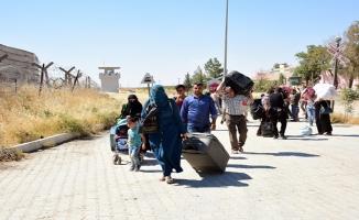 Suriyeli 100 kişilik grup Bab'a döndü