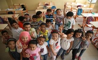 Urfa'daki savaş mağduru çocuklar geleceğe hazırlanıyor