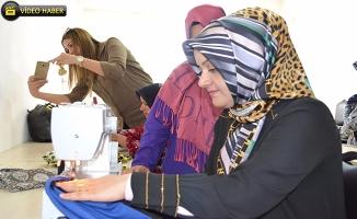 Ayşe Ekinci, kadın destek merkezini ziyaret etti