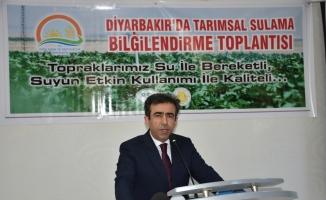 """Diyarbakır'da """"Tarımsal Sulama Bilgilendirme"""" toplantısı"""