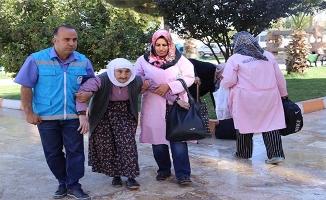 Haliliye'den yaşlılara sağlık turu