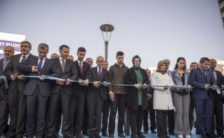 Yüksel'in adının verildiği park Antep'te açıldı