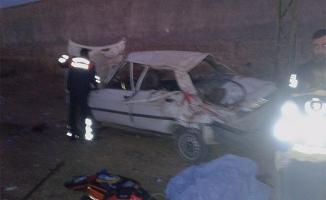Şanlıurfa otoyolunda trafik kazası: 1 ölü 4 yaralı