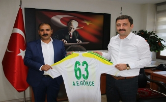 Şanlıurfaspor'dan DSİ Bölge Müdürü Gökçe'ye Ziyaret