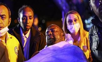 Somalili yaralılar Ankara'ya getirildi