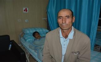 Suriye tarafından gelen mermi baba oğula isabet etti