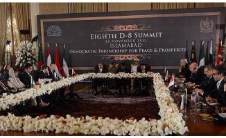 Türkiye ikinci kez D-8 dönem başkanlığı üstlenecek