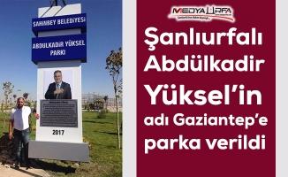 Urfalı Yüksel'e Gaziantep'te vefa