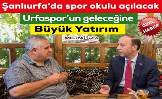 Vali Erin, Urfaspor'u Sedat Atilla'ya değerlendirdi