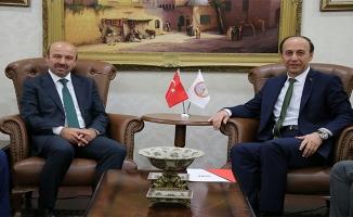 Bakan Eroğlu'nun yardımcısı Şanlıurfa'da