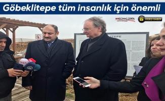 Büyükelçiler Göbeklitepe'yi ziyaret ettiler