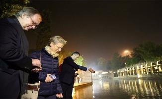Büyükelçiler Urfa'daki ören yerlerini ziyaret etti