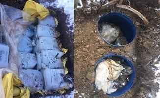 Diyarbakır'da 2 ton 800 kilogram patlayıcı ele geçirildi