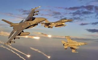 F-16'lar Irak'ın kuzeyini bombaladı