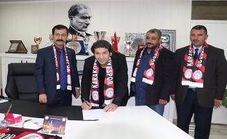 Fenerbahçeli eski futbolcu, Karaköprü Belediyespor'da