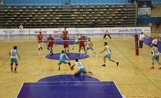 Haliliye Voleybol takımından 3-1'lik galibiyet