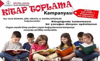 Karaköprü'de kitap toplama kampanyası