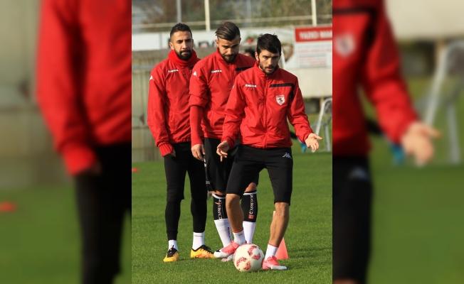 Samsunspor'da gözler Eskişehirspor maçına çevrildi