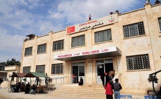 Türkiye Cerablus'ta onbinlerce kişiye 'şifa' oldu