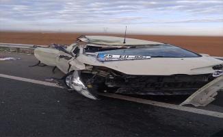 Urfa'daki trafik kazasında 6 askeri personel yaralandı