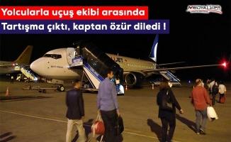 Ankara-Urfa uçağında gergin anlar !