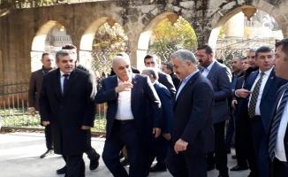 Bakanlar Fakıbaba ve Arslan Esnafı Ziyaret Etti