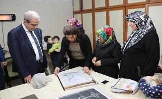 Başkan Demirkol Devteşti'de kadın merkezini ziyaret etti
