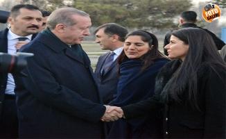 Erdoğan'ı Iğdır'da Urfalı akedemisyen karşıladı