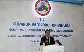 """""""Esnaf ve sanatkarlara sağlanan destek 23 milyar lirayı aştı"""""""