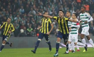 Fenerbahçe, Bursa deplasmanından tek golle galip çıktı