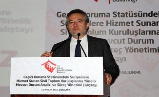 Karabay Urfa'da konuştu: Sosyal hizmete ayrılan bütçe arttı