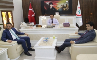 Sağlık Müdürü Durgut'a hayırlı olsun ziyaretleri sürüyor