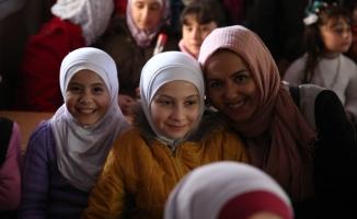 Suriye'deki yetim çocuklar için anaokulu