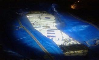 Tırda zulalanmış 29 bin paket kaçak sigara yakalandı
