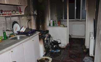 Ankara'da ev yangını: 1 ölü
