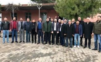 Başkan Çelik, İzol'u ziyaret etti