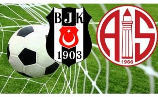 Beşiktaş ile Antalyaspor 44. randevuda