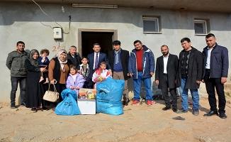 Ceylanpınar'da dar gelirli ailelerin ihtiyaçları gideriliyor