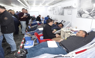 Ceylanpınar'da Kızılay'dan kan bağışı kampanyası
