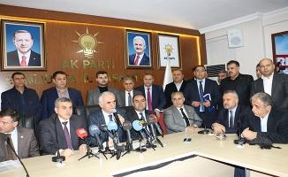 Erol Kaya, Başkan Beyazgül'ü ziyaret etti