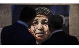 Esed'in öldürdüğü siviller Afrin'de gibi gösterildi