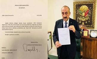Eski Başkan Atilla'dan gönüllü askerlik başvurusu