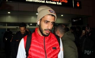 Galatasaray kafilesi Kayseri'de