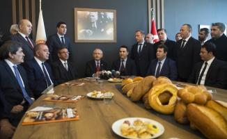Kılıçdaroğlu'ndan ekmek üreticilerine ziyaret