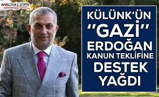 Külünk'ün Erdoğan ile ilgili Kanun Teklifi gündem oldu